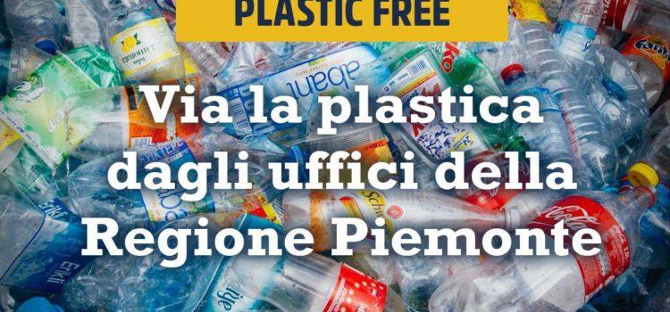 Campagna Plastic Free, il Piemonte risponde presente! Il primo banco di prova sarà la nuova sede unica