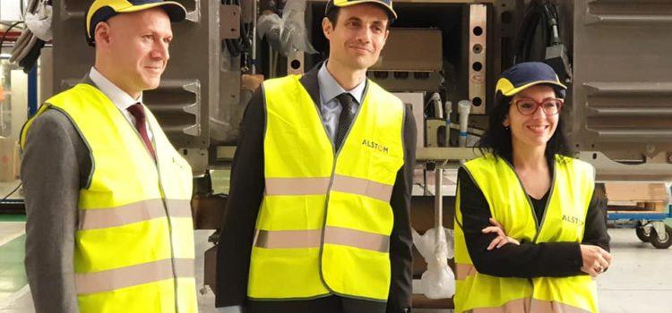 Alstom Savigliano, annunciato il programma del ministero per i treni ad idrogeno. Innovare per creare occupazione