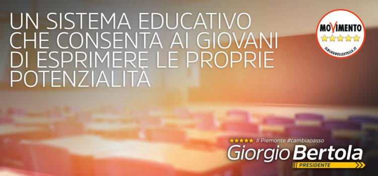 Istruzione – Il Piemonte #CambiaPasso