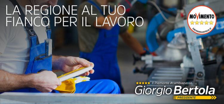 Lavoro – Il Piemonte #CambiaPasso