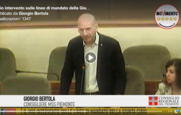 Il mio intervento in Aula sulle linee di mandato della Giunta Cirio.