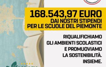 CON IL PROGETTO FACCIAMO ECOSCUOLA 168 MILA EURO A DISPOSIZIONE DEL PIEMONTE