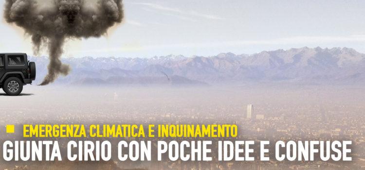 Emergenza climatica, maggioranza con poche idee e confuse. Giunta Cirio inadempiente sugli incentivi