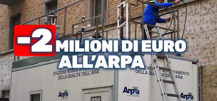 LA LEGA TAGLIA DUE MILIONI DI EURO ALL'ARPA. GIUNTA CIRIO CI RIPENSI