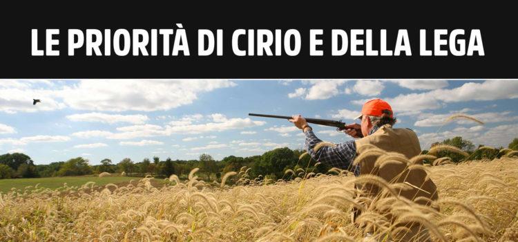 Per Cirio e Lega la caccia al merlo ha la precedenza su bonus Piemonte, Covid e centri estivi